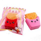 SanQi Elan Мягкая игрушка Французские фри чипы Медленное повышение с упаковкой Коллекция Подарочные игрушки