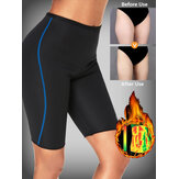 ZANZEA Neoprene Queimar Gordura Leggings Cintura Alta Hip Lifing Shaping Calcinhas