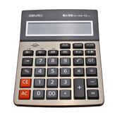 Deli 1542A Rechner Business Office Haushaltscomputer Voice Großbild-Finanzrechner