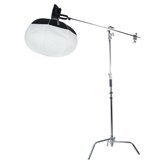 NANLITE LT-80 Laterne 80 Easy-Up Softbox mit 31 Zoll Bowens Mount Light Control Rock Set Bowens Style Speed Ring