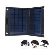 Carregador de painel solar dobrável IPRee® 20W 18V USB com mochila fonte de alimentação para viagens em acampamento
