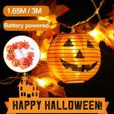 1.65M 3M Zucca di Halloween LED Decorazione per la casa da giardino per feste impermeabile leggera