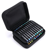 Chenyu BD-11-40 Pencil Case For Student Painting Storage Bag 40-color Solid Color Marker Pen