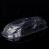 ランボルギーモデルのための1/10スケールPVCクリアRC車体シェル185mm修正