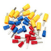 10/25 stuks 22-10AMG Flat Blade Crimp Terminal Isolated Electrical Connector 3 Colors