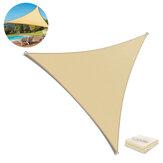 Triangle pare-soleil 95% UV résistant imperméable respirant pliant auvent extérieur Patio plage Camping voyage