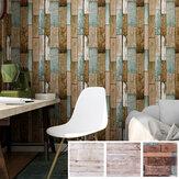 Houten PVC Vloertegel Sticker Zelfklevend Behang Keuken Muursticker voor Huis Slaapkamer Woonkamer DIY Muur Grond Decor
