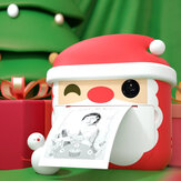 2020 Christams Children Kids 1200M Camera Printer 1080P Recording 2.4in Screen Double Shot Instant Print Camera for Kids Christmas Present Birthday Gifts