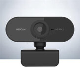 Webcam with Microphone Full HD 1080P Streaming Camera for Macbook