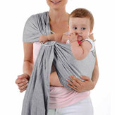 Cotton Baby Carrier Wrap Breathable Hip-seat Stretchy Baby Wrap Sling Nursing Cover Outdoor Travel