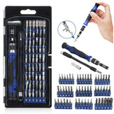 58 In 1 Multi-function Precision Screwdriver Kit with 54 Bits for Phone Watch Sun Glassess Repair Tool