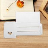 Troqueles de corte de plantilla de bricolaje herramienta Tarjeta de papel Candy Caja Artesanía en relieve Decoración de regalo