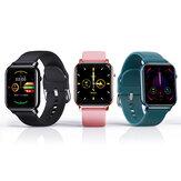 [Correia grátis] Kospet GTO IML Metal Caso 31 Modos de esporte Oxigênio no sangue 24h Coração Monitor de taxa Respire o treinamento Previsão do tempo Previsão do tempo IP68 Waterproof Smart Watch