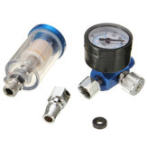 Air Regulator with Pressure Gauge Scratch Doctor Spray Gun Air Regulator Gauge Air Filter