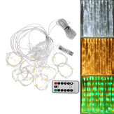 3M*1M 100LED Fairy String Curtain Window Light USB Twinkle Christmas Party Wedding Home Holiday Lamp