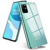 Bakeey do etui OnePlus 8T Crystal Clear Transparent Ultra-cienki Non-Yellow Soft TPU Protective Case