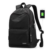 Mazzy Star MS_8018 15.6 Inch Mochila para portátil Cargador USB Anti-ladrón Laptop Bolsa Hombro para hombre Bolsa Mochila de viaje de negocios informal