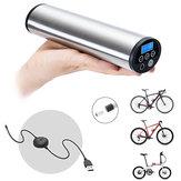 CYCPLUS 2 em 1 150PSI portátil USB recarregável inflador automático de ar para todos os modelos de bicicleta com Schrader / Presta LED de monitor de pressão de iluminação de emergência