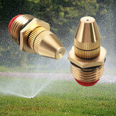 Boquillas de nebulización de latón con flujo de agua ajustable Cabezal de pulverización de jardín