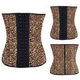 Emagrecimento látex de borracha cintura óssea do corpo treinador moldar cincher shaper corset underbust