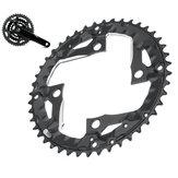 BIKIGHT 44T 9-ступенчатая цепь для велосипеда с зубчатым венцом Пластина Цепочка для велосипедной цепи 370 390 430 590 SLX XT