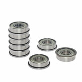 TWO TREES® 10Pcs Flange Bearing Deep Groove Pulley Wheel Aluminum Alloy For 3D Printer