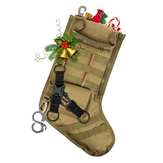 MOLLE Straps Tactical Stocking Dump Drop Pouch Military Hunting Magazine Christmas Storage Bolsa