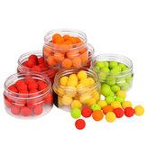 20 Pçs / Caixa Cheiro Soft Olho De Pesca Flutuante Cheiro Bola Beads Alimentador Carpa Isca Artificial