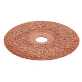 Drillpro 4 Inch Tungsten Carbide Coating Wood Carving Disc Shaping Disc for Angle Grinder