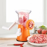Multifunction Hand Crank Manual Meat Electric Grinder Mincer Sausage Filler Maker Machine