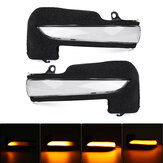 2Pcs Dynamic LED Side Wing Mirror Turn Indicator Light For Toyota Hilux Fortuner Innova Hynix
