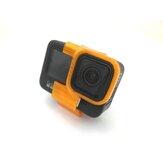 URUAV 25 Degree Inclined Camera Mount Bracket for GoPro Hero 9 Action CAM RC Drone red/black/orange