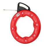 30M長さ3mmの直径の魚テーププーラーワイヤーナイロンテープ適用範囲が広いNylon導管の引きケーブル