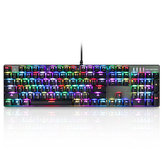 MOTOSPEED Inflictor CK104 NKRO RGB Backlit Mechanical Gaming Keyboard Outemu Blue Switch