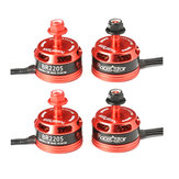 4x Racerstar Racing Edition 2205 BR2205 2600KV 2-4S Brushless Motor CW/CCW For 250 260 280 RC Drone FPV Racing
