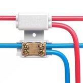 LUSTREON ZK-1306 1Pc T Тип Quick Коннектор Разветвитель высокой мощности Коробка 60A / 400V 1-6мм² Разделитель кабелей 1000A / 2.5V-16mm²