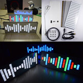 Geekcreit® DIY Big Size Touch Control 225 Segment LED Digital Equalizer Muziek Spectrum Geluidsgolven Kit