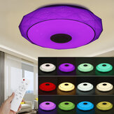 40CM bluetooth WiFi APP LED Ceiling Light RGB Music Speaker Dimmable Lamp + Remote Control
