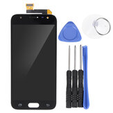 LCD Touch Screen digitalizador Assembly + ferramentas para Samsung Galaxy J3 2017