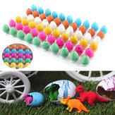 60PCS Magisch Water Groeiend Uitbroeden Dinosaurus Eieren Kinder Speelgoed Kerstmis Cadeau