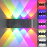 Moderna 8w 8 LED parede da escada de luz para cima para baixo sconce lâmpada de casa 110-240V interior