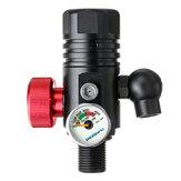 DEDEPU 4500Psi 360 ° Liga de Alumínio Primeira Respiração Tanque de Mergulho Autônomo Válvula Respiratória Rosca Regulador de Válvula de Paintball