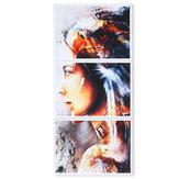 3 Teile / satz Moderne Ungerahmt Leinwanddruck Malerei Poster Wandkunst Bild Home Dekorationen