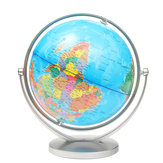 World Globe Earth Ocean Atlas Map With Rotating Stand Geography Educational Desktop Decorations