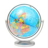 Globo do mundo terra oceano atlas mapa com suporte rotativo geografia educacional decorações de mesa