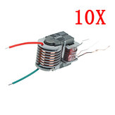 10pcs 15KV High Frequency High Voltage Transformer High Voltage Coil Boost Inverter Plasma Boosting Coil