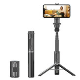 Selfieshow AB302 bluetooth 5.0 Stabilizer Anti-shake Stable Tripod Selfie Stick for Video Shooting Vlog  Live Broadcast Device Camera Motion Handheld PTZ