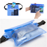 Honana HN-TB32 Travel Waterproof Pouch Portable Touch Responsive Screen Storage Bag Beach Organizer