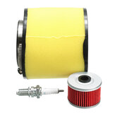 Air Filter Oil Filter Spark Plug Kit For Honda Fourtrax 300 2x4 & 4x4 TRX300/FW