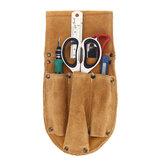 Rindsleder Taillentasche Elektrische Holzbearbeitung Hardware Schraubendreher Werkzeuge Gürtel Fall
